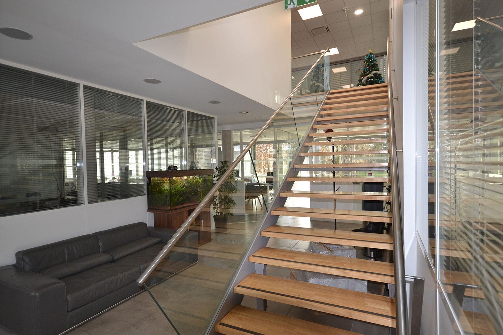 Cette image montre l'intérieur des locaux de Néo Gestion